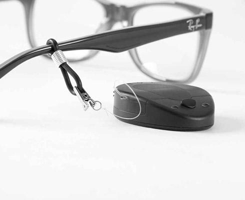 Sujeción para gafas