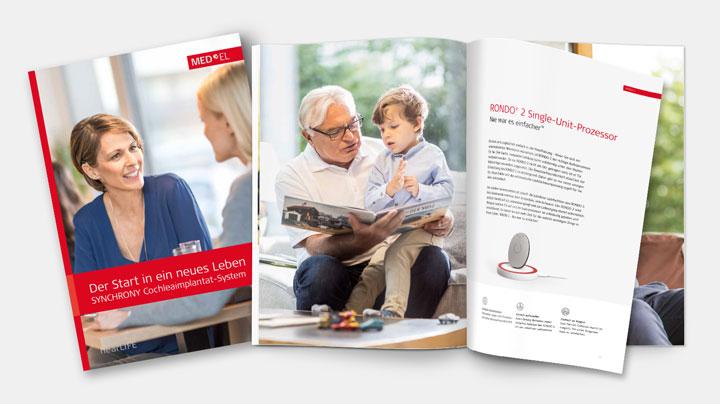 MED-EL Brochüre - Der Start in ein neues Leben